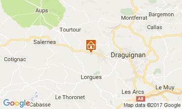 Carte Draguignan Villa 108952