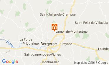 Carte Bergerac Gite 107715
