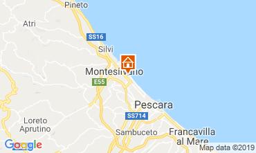 Carte Montesilvano Marina Appartement 59865