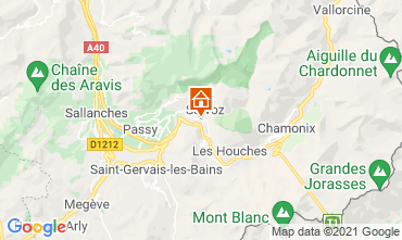Carte Chamonix Mont-Blanc Studio 93266