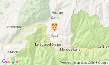 Carte Alpe d'Huez Appartement 107207