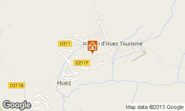 Carte Alpe d'Huez Studio 29332