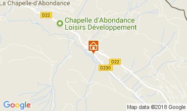 Carte La Chapelle d'Abondance Chalet 61959
