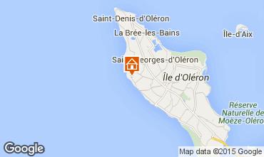 Carte Saint Georges d'Oléron Maison 81421