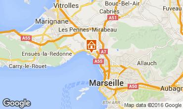 Carte Marseille Hébergement insolite 95375