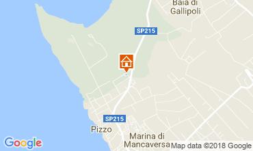 Carte Marina di Mancaversa Villa 113760