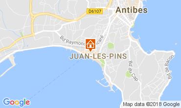 Carte Juan les Pins Appartement 113036