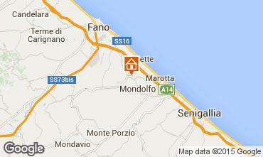Carte Pesaro Appartement 67543