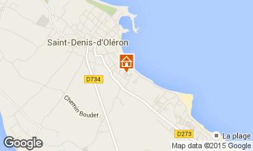 Carte Saint Denis d'Oléron Villa 74637
