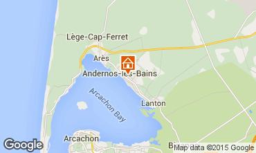 Carte Andernos les Bains Maison 41686