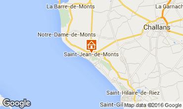 Carte Saint Jean de Monts Mobil-home 74172