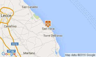 Carte San Foca Appartement 90834