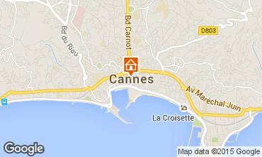 Carte Cannes Appartement 17381