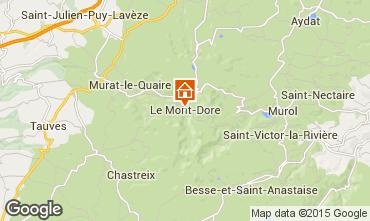 Carte Le Mont Dore Appartement 36179