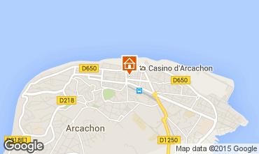 Carte Arcachon Appartement 23466