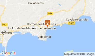 Carte Le Lavandou Appartement 113832