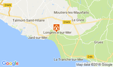 Carte Longeville sur Mer Gite 113644