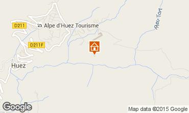 Carte Alpe d'Huez Studio 17370