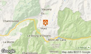 Carte Alpe d'Huez Studio 28