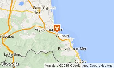 Carte Argeles sur Mer Maison 91008