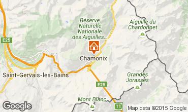 Carte Chamonix Mont-Blanc Appartement 28457