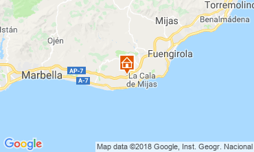 Carte La Cala de Mijas Appartement 116746