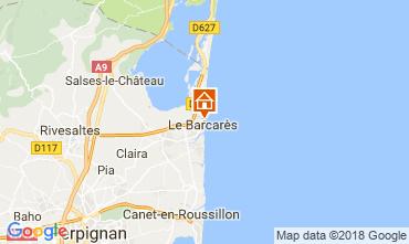 Carte Le Barcares Villa 109671