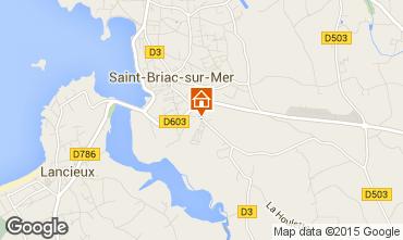 Carte Saint Briac sur Mer Mobil-home 91448