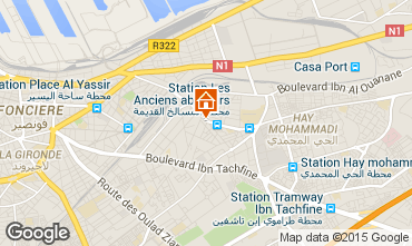 Carte Casablanca Appartement 75111