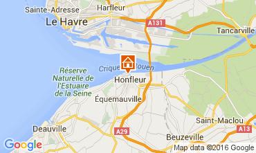 Carte Honfleur Appartement 103646