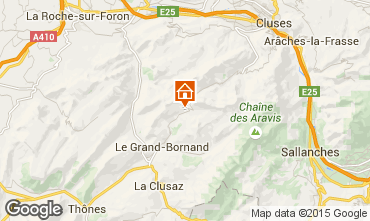 Carte Le Grand Bornand Chalet 1390