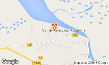 Carte Saint Valéry sur Somme Gite 81455