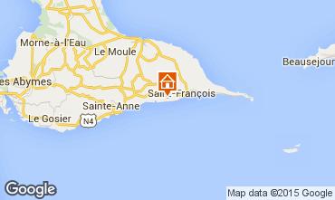 Carte Saint Francois Villa 101259