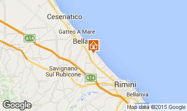 Carte Bellaria Igea Marina Appartement 16485