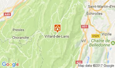 Carte Villard de Lans - Corrençon en Vercors Appartement 112217