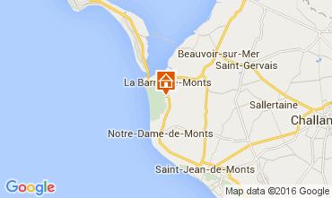 Carte La Barre de Monts Villa 95533