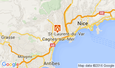 Carte Nice Appartement 105422