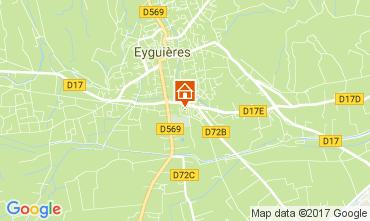 Carte Eyguières Maison 112210