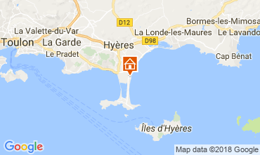 Carte Hyères Maison 114738