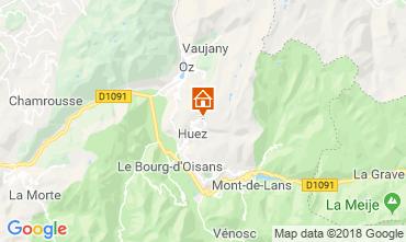 Carte Alpe d'Huez Studio 116847