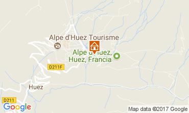 Carte Alpe d'Huez Appartement 111769