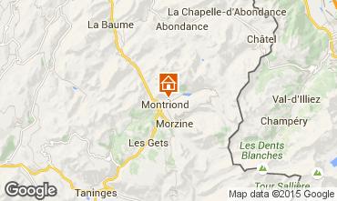 Carte Montriond Chalet 1949