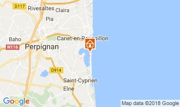 Carte Canet-en-Roussillon Mobil-home 114843