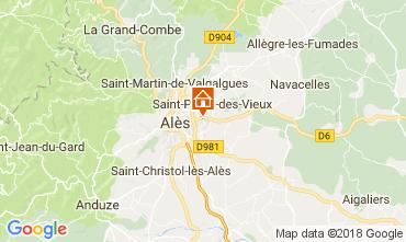 Carte Alès Villa 113334