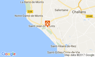 Carte Saint Jean de Monts Mobil-home 112527