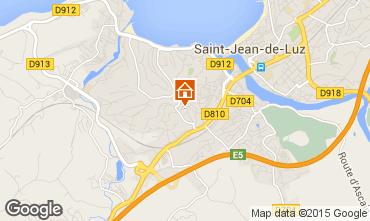 Carte Saint Jean de Luz Appartement 95049