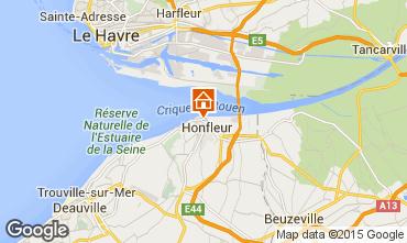 Carte Honfleur Appartement 72449