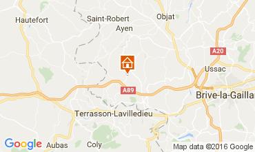 Carte Brive-la-Gaillarde Maison 107031