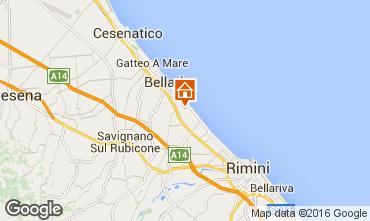 Carte Bellaria Igea Marina Appartement 103006