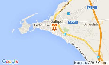 Carte Gallipoli Appartement 76942